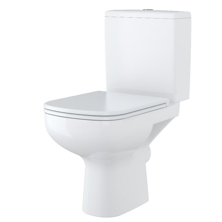 CERSANIT - WC KOMBI 366 COLOUR 011 3/6 BEZ SEDÁTKA (K103-012) CERSANIT