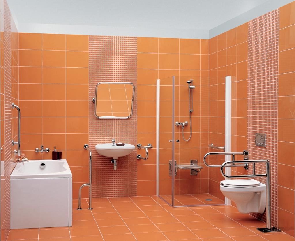 CERSANIT - Podlahové madlo 60 pro WC, pohyblivé  (K97-036), fotografie 2/3