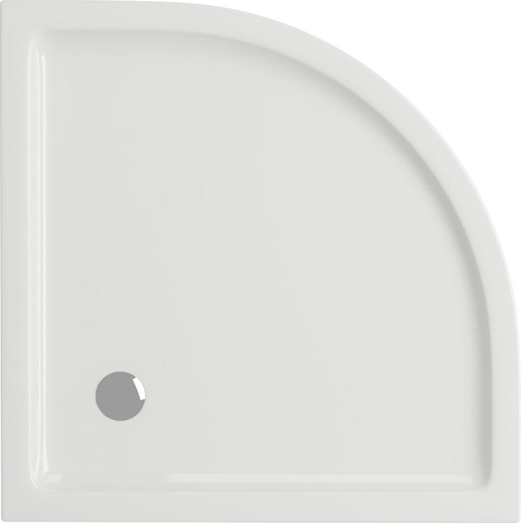 CERSANIT - Sprchová vanička TAKO 80x4, čtvrtkruh CW (S204-001)