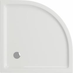 Sprchová vanička TAKO 80x4, čtvrtkruh CW (S204-001), fotografie 4/2