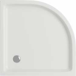 CERSANIT - Sprchová vanička TAKO 90x16, čtvrtkruh, BUILT-IN-PANEL CW (S204-004), fotografie 4/2