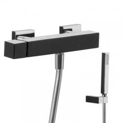 TRES - Jednopáková sprchová baterie Ruční sprcha snastavitelným držákem, proti usaz. vod. kamene (607167)