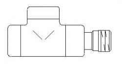 "VÝPRODEJ - Zpětný ventil Oventrop ""Combi E"" jednoduchý, chrom, DN15-1 / 2 "" (243277VYP)"