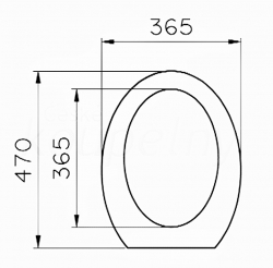VÝPRODEJ - ESPACE bidetové sedátko (39-003-000VYP), fotografie 4/2