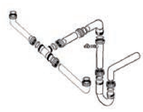 FRANKE F2L - sifon pro úsporu místa   (112.0167.983)