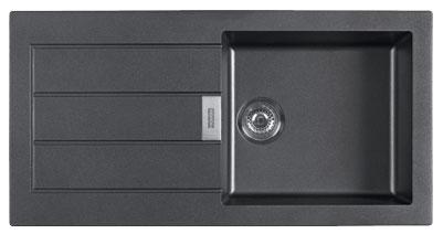FRANKE SID 611 černý 1000x510 mm (114.0120.458 )