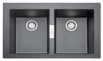 FRANKE SID 620 černý 860x510 mm (114.0120.461 )