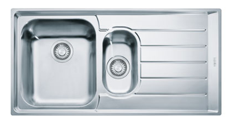 FRANKE NEX 651 2 1000x510 mm (101.0120.275 )