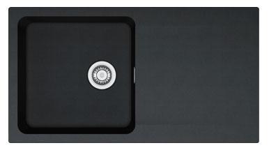 FRANKE OID 611 černý 940x510 mm (114.0288.543 )