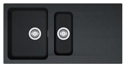 FRANKE OID 651 černý 1000x510 mm (114.0288.592 )