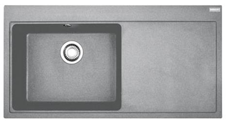 FRANKE MTG 611 2 šedý kámen 1000x515 (114.0150.007 )
