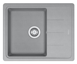 FRANKE BFG 611-62 620x500 šedý kámen (114.0285.118 )