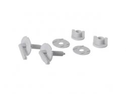 Sada šroubů pro polypropylenové sedátko MARKET (K99-0044) - CERSANIT
