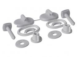 Sada umělohmotných šroubů pro polypropylenové sedátko (K99-0004) - CERSANIT
