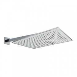 TRES - Nástěnné sprchové ramínko s kropítkem proti usaz. vod. kamenes kloubem. 450x315mm. (29953203)