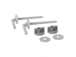 Sada umělohmotných šroubů pro duroplastová sedátka (K99-0002) (K99-0002) - CERSANIT