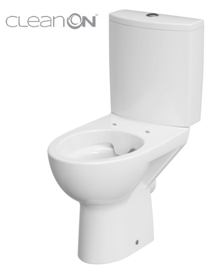 CERSANIT - WC KOMBI PARVA NEW 477 CLEANON 010 3/6 BEZ SEDÁTKA (K27-062) CERSANIT