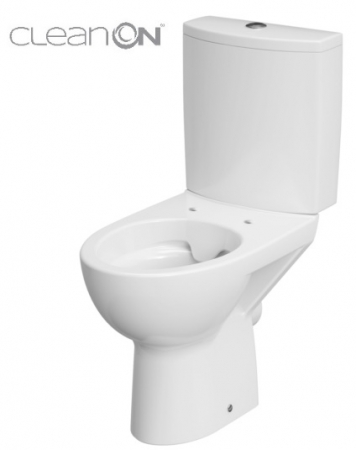 WC KOMBI PARVA NEW 477   CLEANON   010 3/6 BEZ SEDÁTKA (K27-062) - CERSANIT