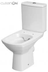 WC KOMBI CARINA NEW 480 CLEANON   010 3/6 BEZ SEDÁTKA (K31-045) - CERSANIT