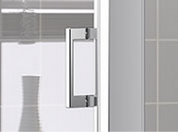Kermi Boční stěna Cada XS TWD 10020 960-1010/2000 stříbrná vys.lesk Serig.CC Clean boční stěna  (CCTWD10020VVK), fotografie 12/6
