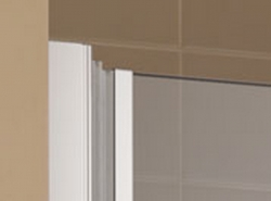 Kermi Kyvné dveře Cada XS 1WR 07520 710-760/2000 stříbrná vys.lesk ESG čiré Clean 1-křídlé kyvné dveře s panty vpravo  (CC1WR07520VPK), fotografie 16/9