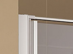 KERMI - Cada XS  Jednokřídlé kyvné dveře s pevným polem vlevo šířka 1200 mm výška 2000 mm (CC1GL12020VPK), fotografie 4/9
