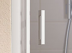 KERMI - Cada XS  Jednokřídlé kyvné dveře s pevným polem vlevo šířka 900 mm výška 2000 mm (CC1GL09020VVK), fotografie 2/10