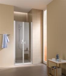 Kermi Kyvné dveře Cada XS PTD 08520 810-860/2000 bílá ESG čiré Clean Kyvné dveře  (CCPTD085202PK)