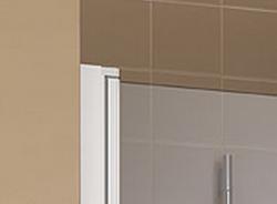 Kermi Kyvné dveře Cada XS PTD 08520 810-860/2000 bílá ESG čiré Clean Kyvné dveře  (CCPTD085202PK), fotografie 4/10