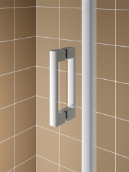 Kermi Kyvné dveře Cada XS PTD 09020 860-910/2000 stříbrná vys.lesk Serig.CC Clean Kyvné dveře  (CCPTD09020VVK), fotografie 18/11