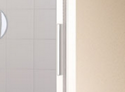 Kermi Posuvné dveře Cada XS G2R 14020 1370-1410/2000 bílá ESG čiré Clean 2-dílné posuvné dveře s pevným polem pevné pole vpravo (CCG2R140202PK), fotografie 2/6