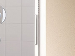 KERMI - Cada XS  3-dílné posuvné dveře s pevným polem vlevo šířka 700 mm výška 2000 mm (CCG3L070202PK), fotografie 10/6
