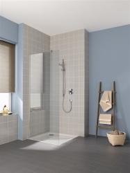 Kermi Boční stěna Cada XS TWF 08020 775-800/2000 stříbrná vys.lesk Serig.CC Clean boční stěna volně stojící  (CCTWF08020VVK)