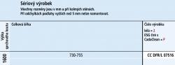 Kermi Otočné křídlo Cada XS DFR 07516 730-755/1600 Serig.CC Clean Otočná vanová zástěna  (CCDFR07516VVK), fotografie 6/6