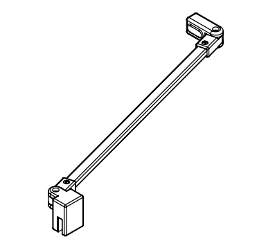 Kermi Stabilizátor Cada XS SSVSS Länge 1220 mm bílá ZDSSVSSCC1202K