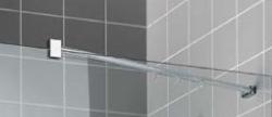 Kermi Boční stěna Filia XP TWD 08020 775-800/2000 stříbrná vys.lesk ESG čiré Clean boční stěna  (FXTWD08020VPK), fotografie 8/5