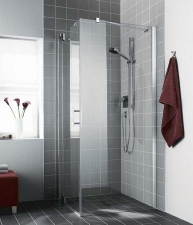 Kermi Boční stěna Filia XP TWD 09020 875-900/2000 stříbrná vys.lesk ESG čiré Clean boční stěna  (FXTWD09020VPK)