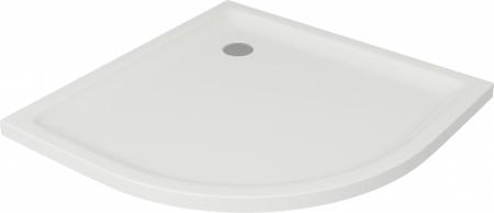 CERSANIT - Sprchová vanička TAKO 90x4, čtvrtkruh CW (S204-002)