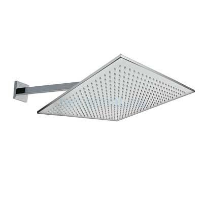Nástěnné sprchové ramínko s kropítkem proti usaz. vod. kamenes kloubem. 450x450 mm. (29953205) Tres