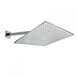 TRES - Nástěnné sprchové ramínko s kropítkem proti usaz. vod. kamenes kloubem. 450x450mm. (29953205)
