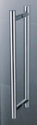 Kermi Kyvné dveře Pasa XP 1WR 09018 870-900/1850 stříbrná vys.lesk ESG čiré Clean 1-křídlé kyvné dveře s p. polem pro boční stěnu/zkrácenou boční stěnu (PX1WR09018VPK), fotografie 12/9