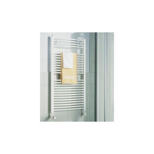KERMI B-20 R, koupelnový radiátor zahnutý 800x400mm, bílá