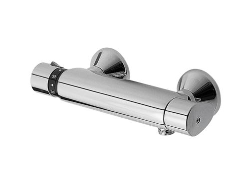 TRES Termostatická sprchová baterie BASIC (Ruční sprcha (1.34.821) s nastavitelným držákem, pro (1901629)