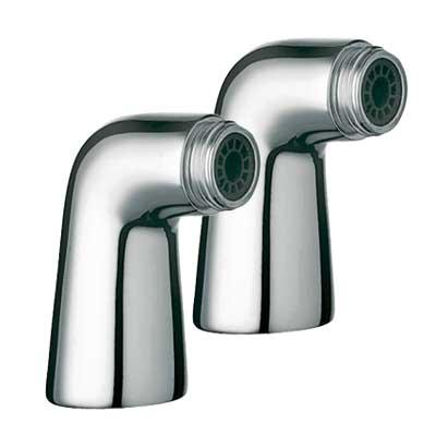 TRES UZAVÍRACÍ VENTILY Rohový ventil vana-sprcha 2 kusy s tlumičem (134870 )