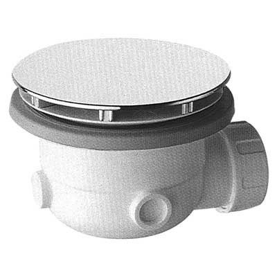 Rozšroubovatelný sifonový odtok pro sprchovou vaničku, se zabudovaným sifonemodtok 31 l/min, O 120 mm (104840)