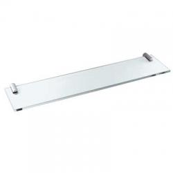 TRES - Průsvitná skleněná polička400mm. (16163615)
