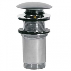 TRES - Umyvadlový ventil bez přepaduzátka O66mm CLICK-CLACK (13454060)