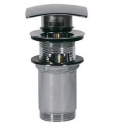 TRES - Umyvadlový ventil s přepademČtvercová zátka 68x68mm CLICK-CLACK (13434020)