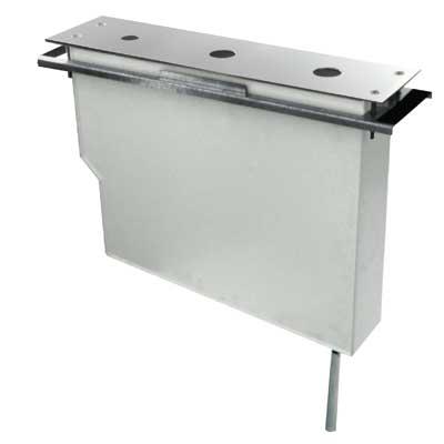 TRES Set nádrže pro stojánkové vanové baterie Snadná montáž shora. Bez otvorů (Kód: 061.161.01, (162245)