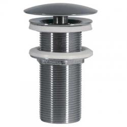 TRES - Umyvadlový ventil svolným (vždy otevřeným) odtokemzátka O72mm (13424030)